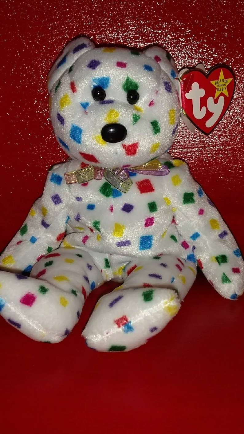 a4461be4281 RARE TY 2K Beanie Baby with tag errors