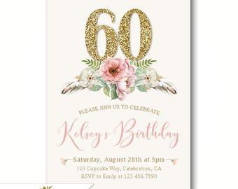 75 Invitaciones De Cumpleaños De La Mujer Por Su Cumpleaños