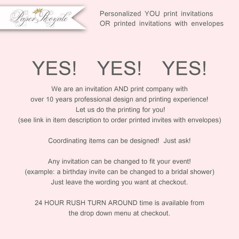 Vintage 80th Birthday Invitations Womens