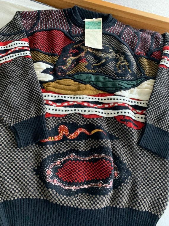 Australian Aboriginal Wool Jumper