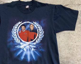 90s Star Trek Enterprise Ships t-shirt    Vintage Starfleet shirt    Free Shipping WW