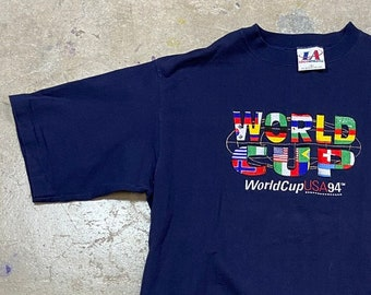 NEW World Cup Logo/'s USA 94 Football Unisex T-Shirt All Sizes Colours