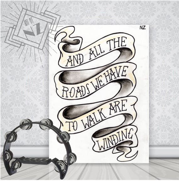 OASIS LIVE FOREVER ANY LYRICS CANVAS PRINT POP ART MANY SIZES TO CHOOSE FROM