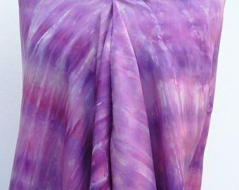 Bagno Lilla E Rosa : Pink silk scarf etsy