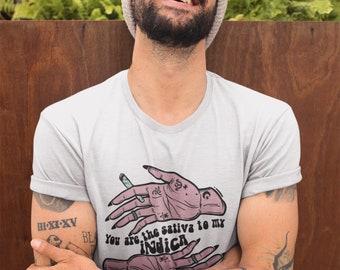Sativa Tee | Cannabis/Marijuana Shirt | Women's Short Sleeve Shirt