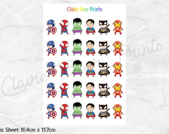 LITTLE HERO Planner Stickers