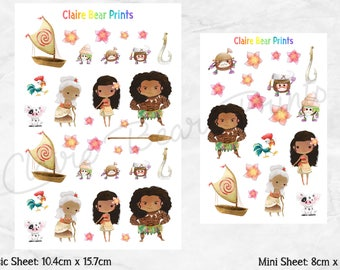 MOANA Planner Stickers (2 options)