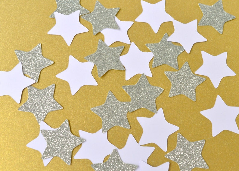 Twinkle Twinkle Little Star Table Scatter Stars Party Decor image 0