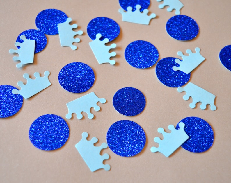 Baby Shower Confetti Crown Table Scatter Confetti Party Decor image 0