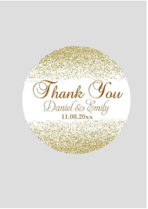 Wedding Stickers For Favors Personalized Stickers Wedding Etsy