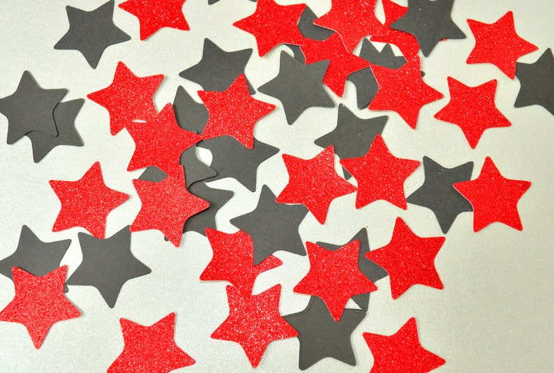 New Years Eve Party Star Confetti Mix Birthday Party image 0