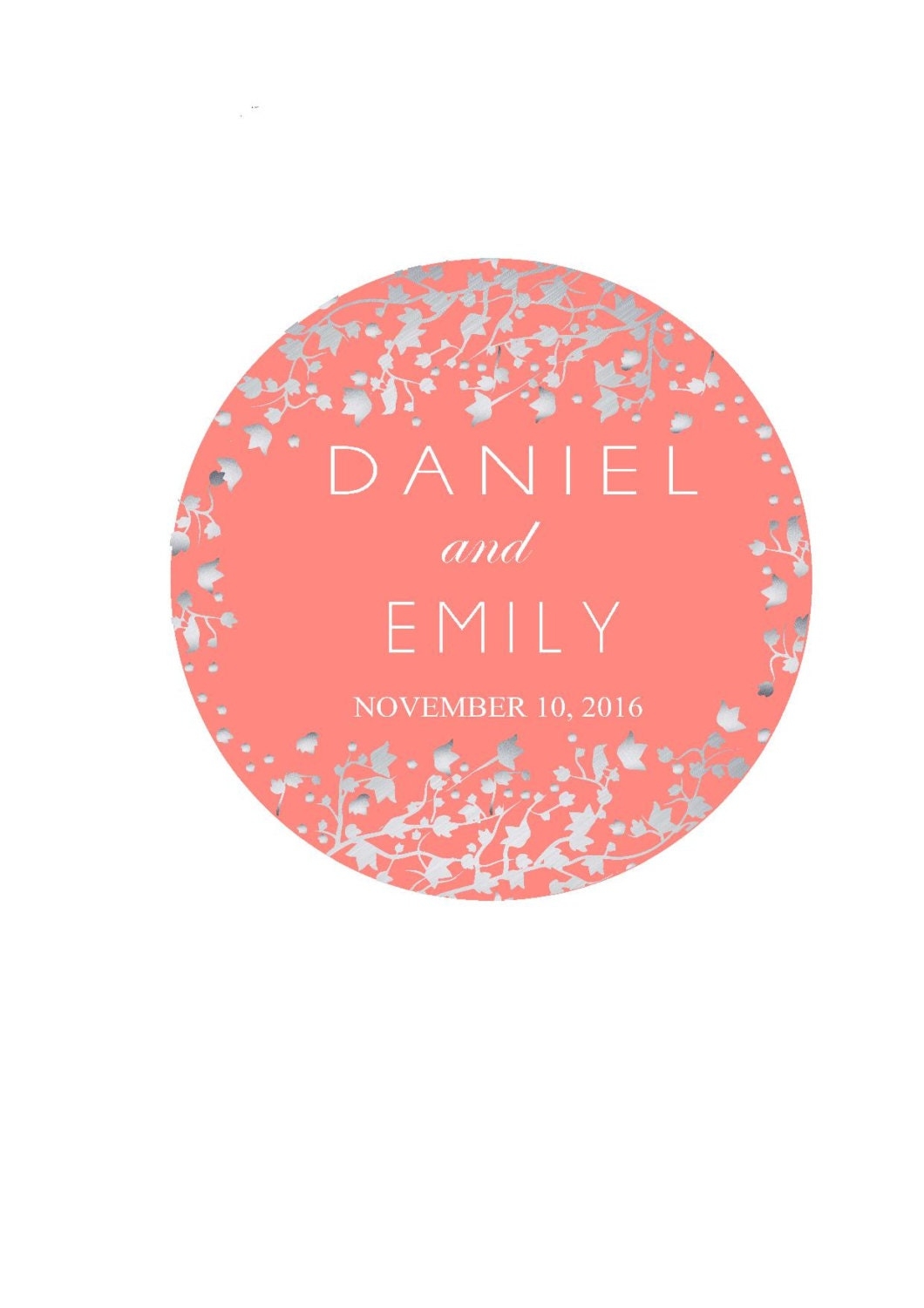 Wedding Favor Labels Personalized Wedding Stickers Thank You   Etsy