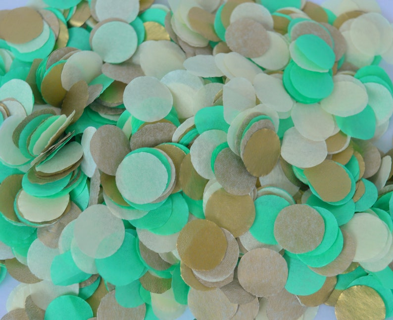 Wedding Confetti Tissue Biodegradable Confetti Table Confetti image 0