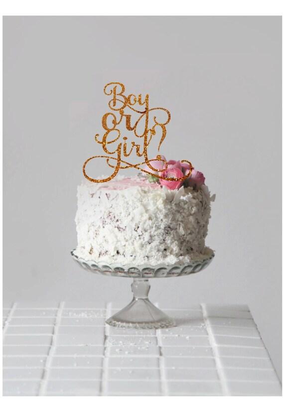Baby Shower Kuchen Topper Junge Oder Madchen Kuchen Topper Etsy