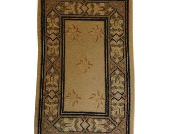Small Hooked Rug