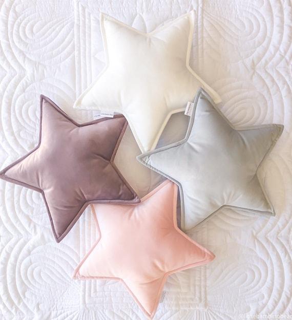 Velvet Star Cushion Star Pillow Star