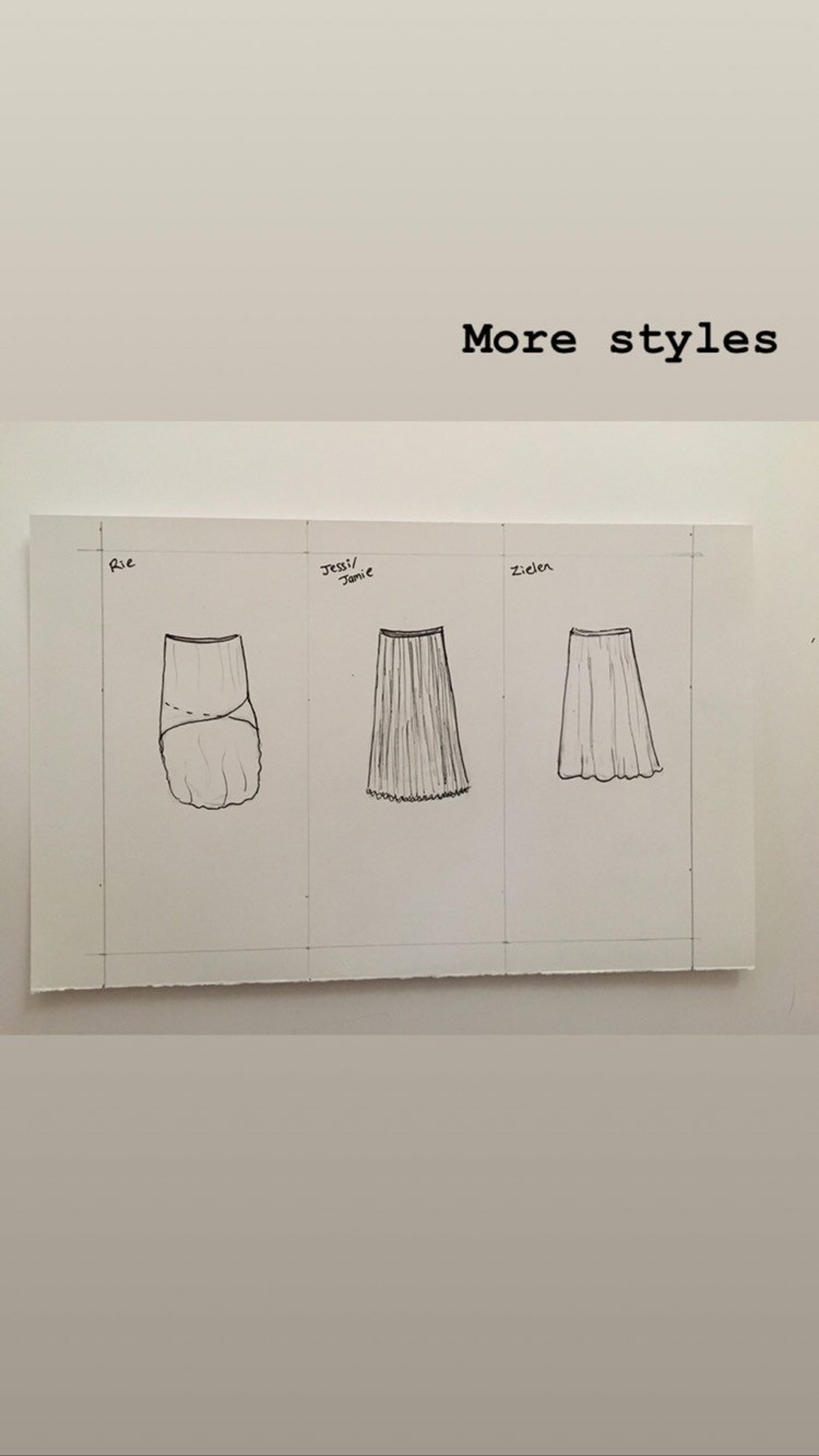 toi toi toi ballet wrap skirt long style! rehearsal, class, performance. molly style.