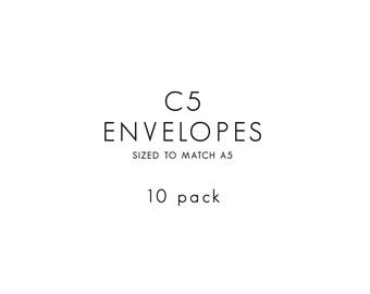 Envelopes / C5 / 10 PACK