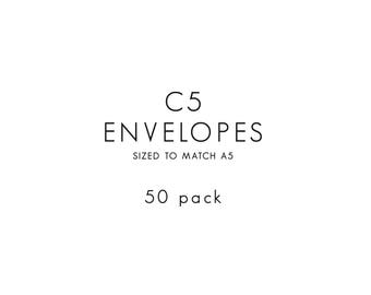 Envelopes / C5 / 50 PACK