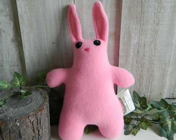 Plush baby bunny stuffed animal, woodland stuffed toy, nursery decor, baby shower gift
