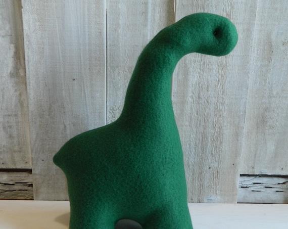 Small stuffed brontosaurus dinosaur kids decor dinosaur baby toy dinosaur baby toy nursery decor baby shower gift dinosaur kids gift