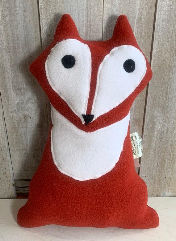 Plush fox toy stuffed foxy fox stuffed animal woodland nursery forest animal toys plush fox nursery decor cabin decor RV decor
