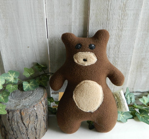 Woodland baby bear stuffed animal, baby shower gift, cabin decor, RV decor, woodland nursery