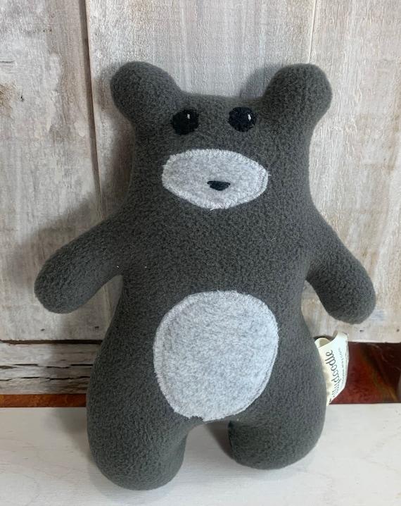 Stuffed baby bear woodland nursery decor gift for girls gift for boys baby gift cabin decor RV decor plush bear baby shower gift