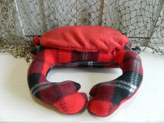 Cute plush stuffed crab nautical stuffed animal, under the sea baby shower gift, beach nursery decor baby shower gift