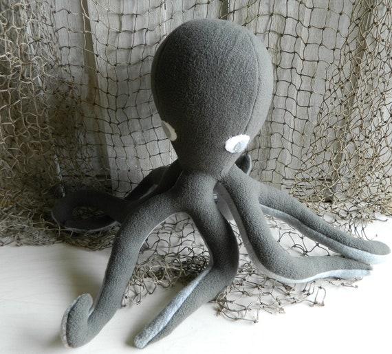 Octopus stuffed animal plush toy, nursery decor, under the sea, baby shower gift