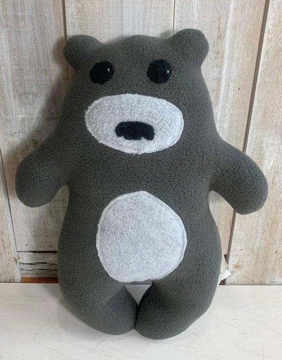 Stuffed plush teddy bear toy woodland nursery forest animals bear stuffed softie friendly bear toy baby shower gift nursery decor