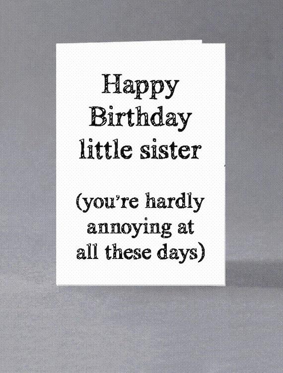 Bruder Schwester Geburtstagskarte Alles Gute Zum Geburtstag Etsy