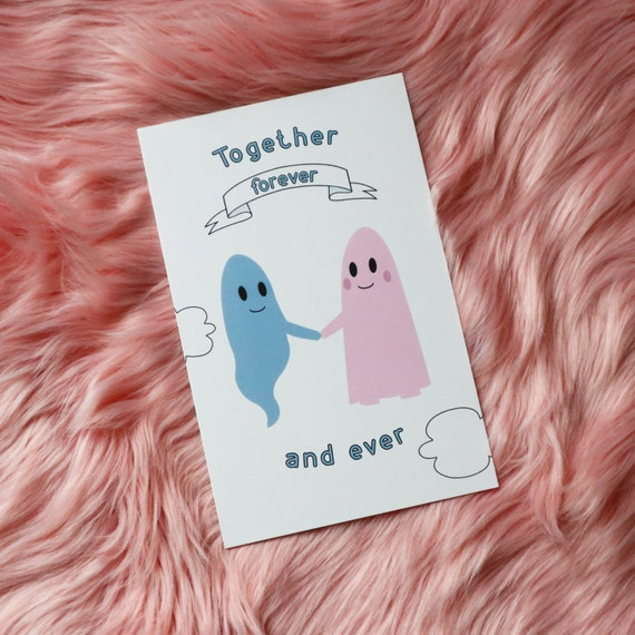 Letterpress Greeting Card Forever and Ever After