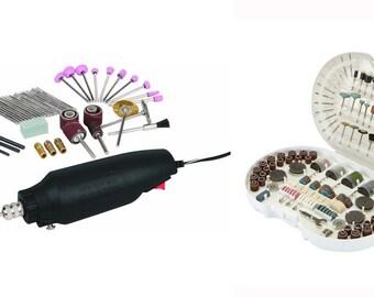 356Pc Storehouse Rotary Tool Kits Craft Drill Grind Jewelry Cut Metal Dremel Bit