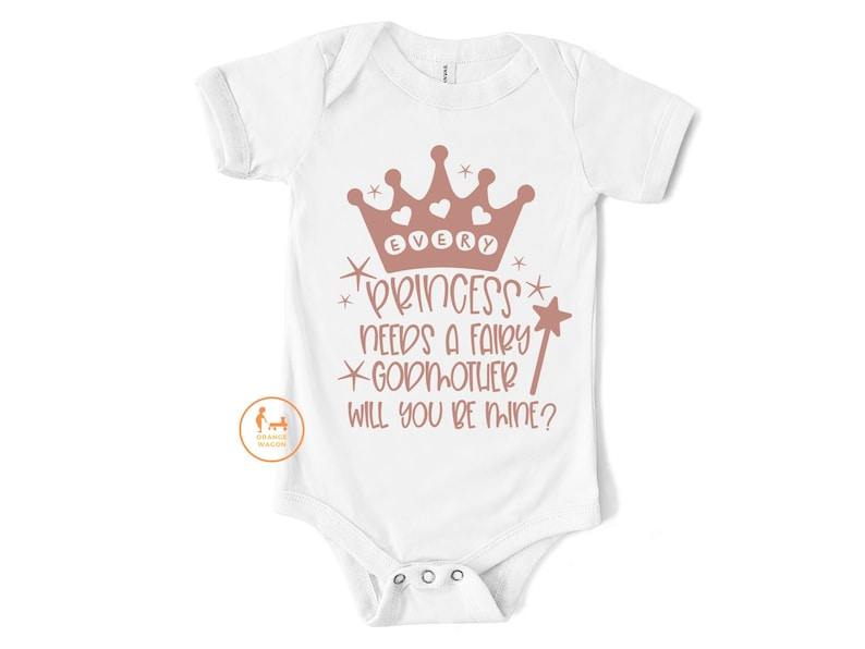 Godparent Proposal Onsie Will You Be my Godfather Onsie Asking Godparents Will You Be My Godmother Onsie Baby Body Suit Ask Godparent
