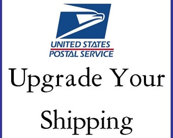 Expedited Shipping/Rush Shipping/Hurry/USPS