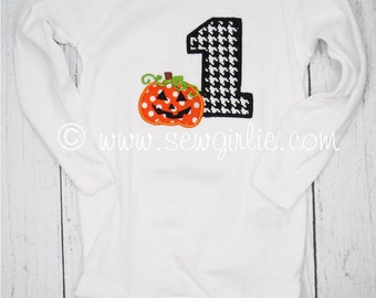 Preppy Personalized Monogrammed First Halloween Infant Bodysuit/My First Halloween Onezie/Cute Newborn Halloween Gift/Baby Halloween Outfit