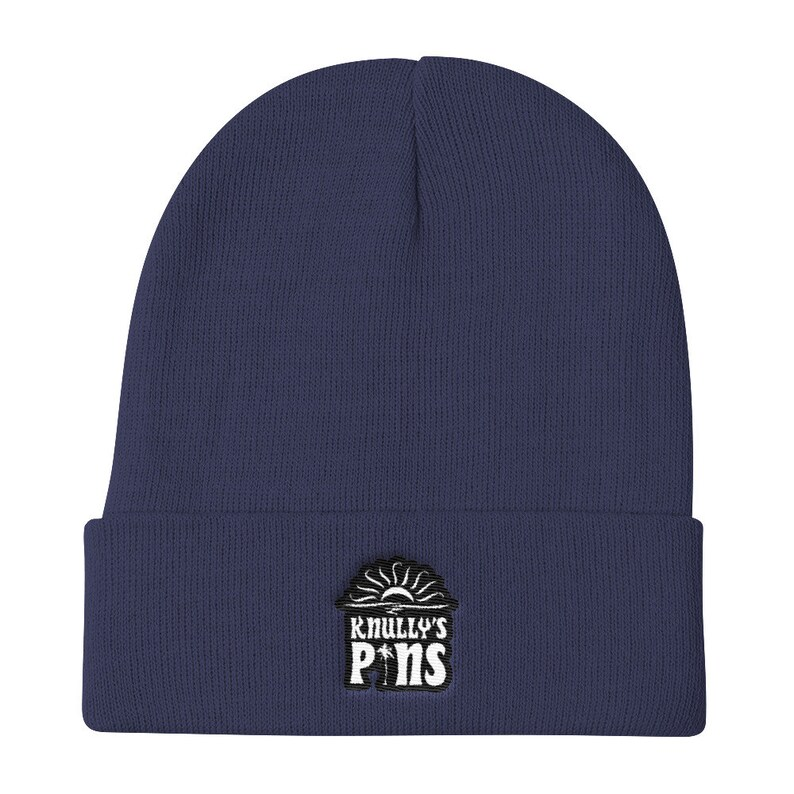 Knully/'s Pins Logo Knitted Beanie