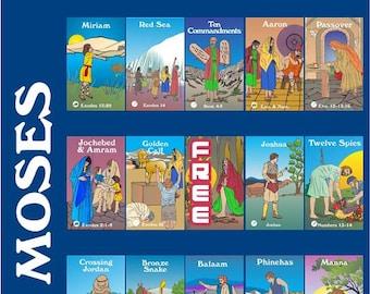 Moses / Exodus Bingo Game - Printable Download