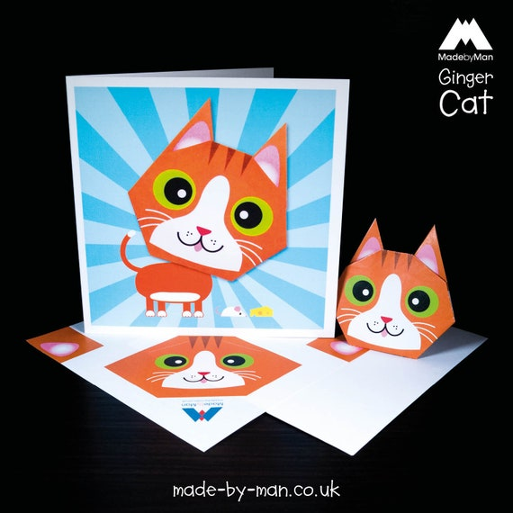 Step By Step Instructions How To Make Origami Cat Royalty Free ... | 570x570