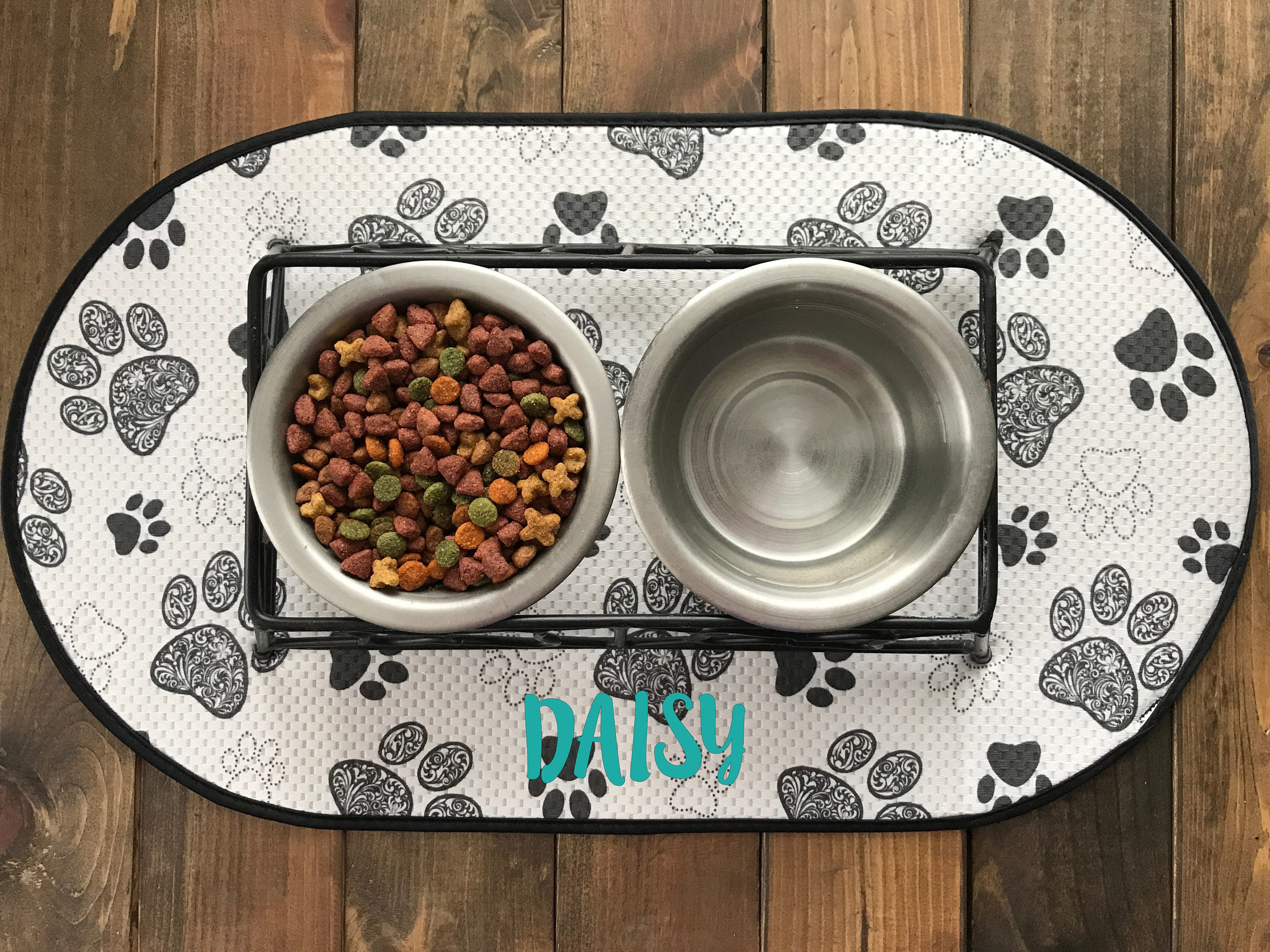 shaped non and product paw free over overstock food slip on orders mat cats supplies for litter pet bffa shipping dogs
