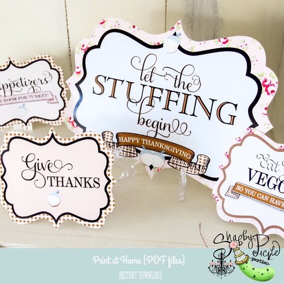 graphic about Happy Thanksgiving Signs Printable titled Thanksgiving-Social gathering Get hold of Alongside one another-Collecting-Indicators-Remaining More than
