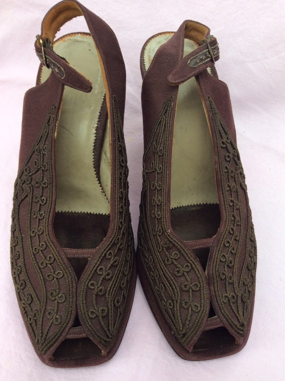 1940s Corde shoes - image 2