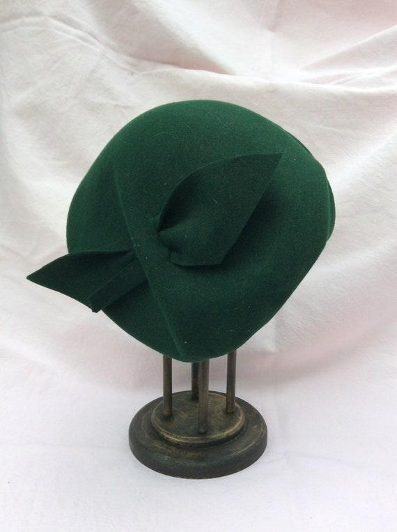 1940s green hat
