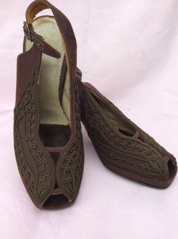 1940s Corde shoes
