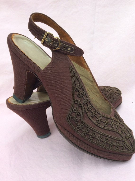1940s Corde shoes - image 3