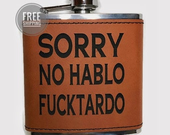 best friend gift husband gift sister gift friend gift Funny flask wife gift 8 oz cheaper than therapy round flask