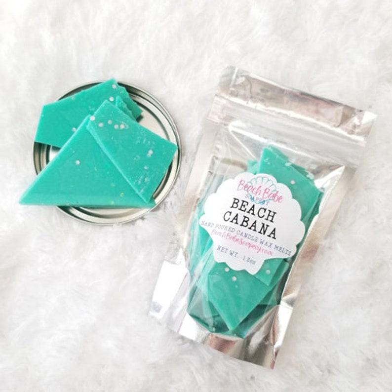 Tea Light Wax BULK Beach Cabana Candle Wax Melts Wax Tart Wax Warmer