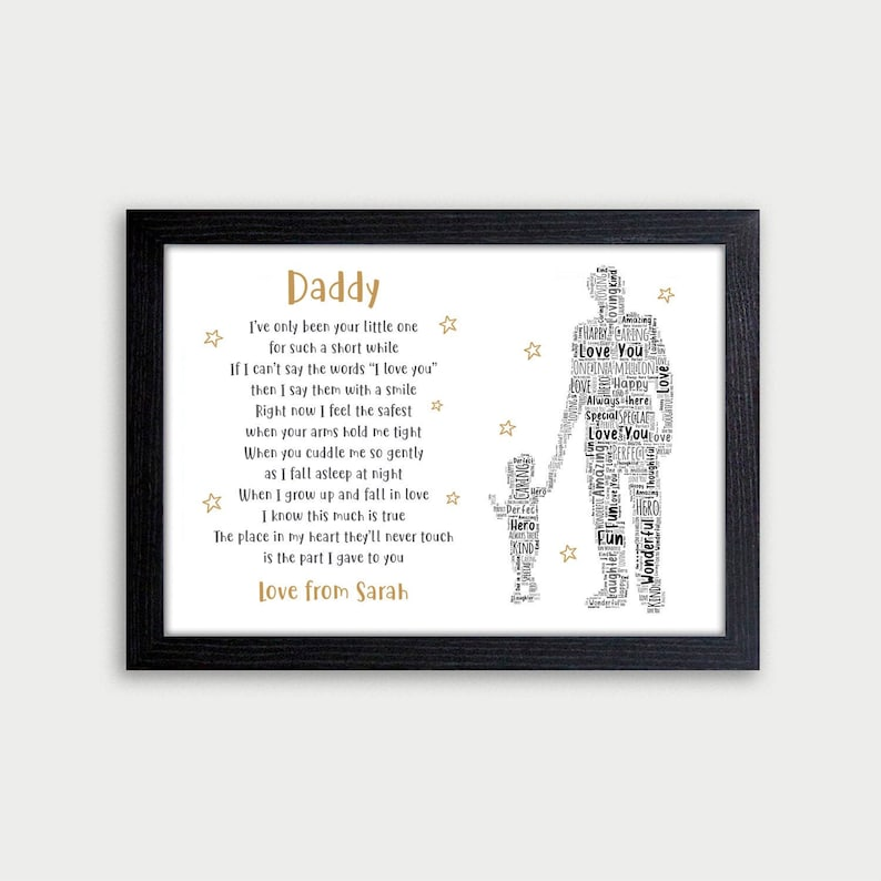 Christmas Gifts For Dad.Daddy Gifts Personalised Father S Day Birthday Christmas Gifts For Daddy Dad Grandad Gifts Daddy And Daughter Son 1 2 Or 3 Kids