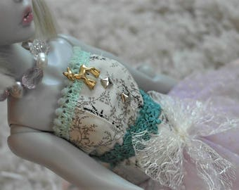 Tsukifly Lillycat Pastel Deer Dress set